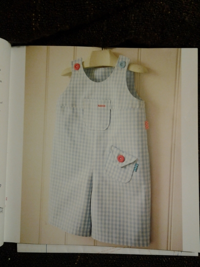 Original dungarees from book