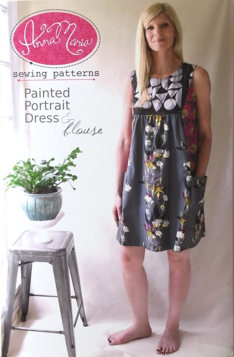 paintedportraitdress