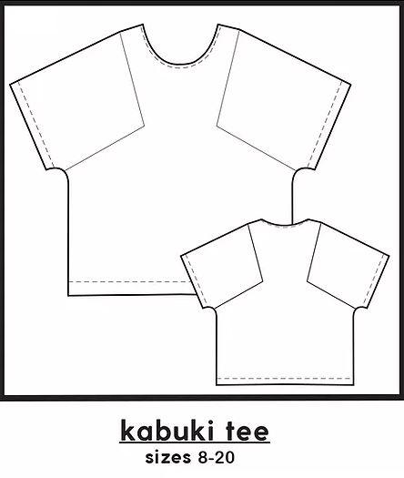 kabukilinedrawing